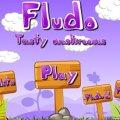 Флудо собирает грибы